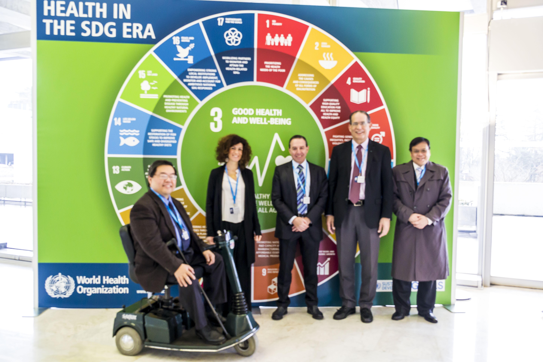 ISPRM Rehabilitation 2030 - PC at WHO - Rehab 2030