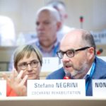 Dr. Carlotte Kiekens and Prof. Stefano Negrini
