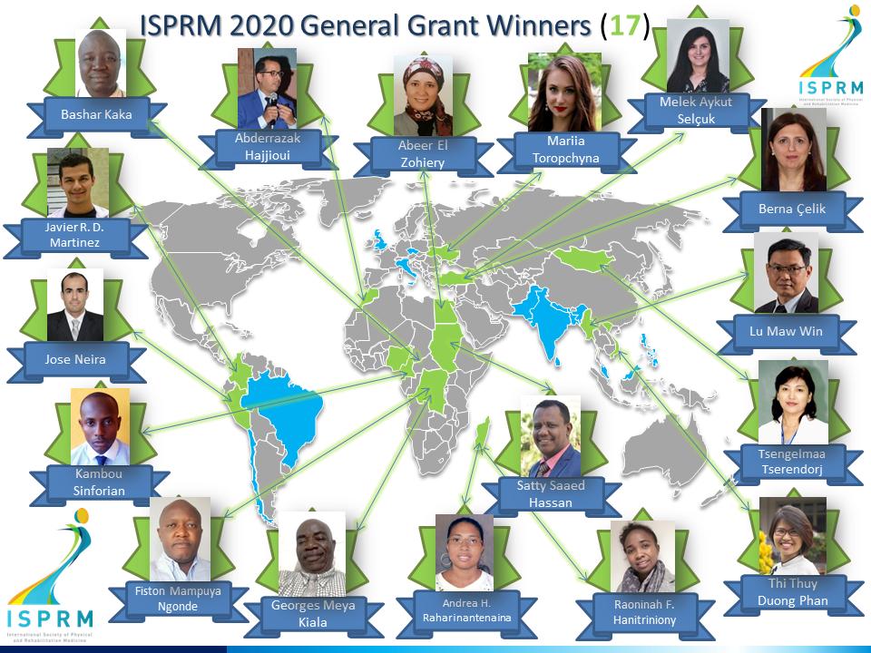 ISPRM 2020 GRANTEES