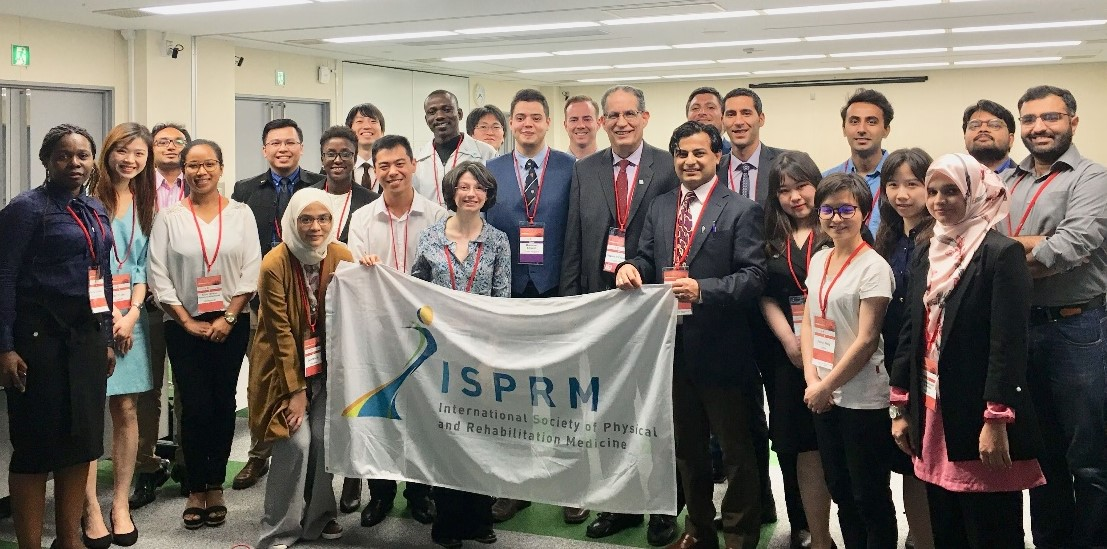 1st WYF Panel at ISPRM2019_with Prof. Walter Frontera