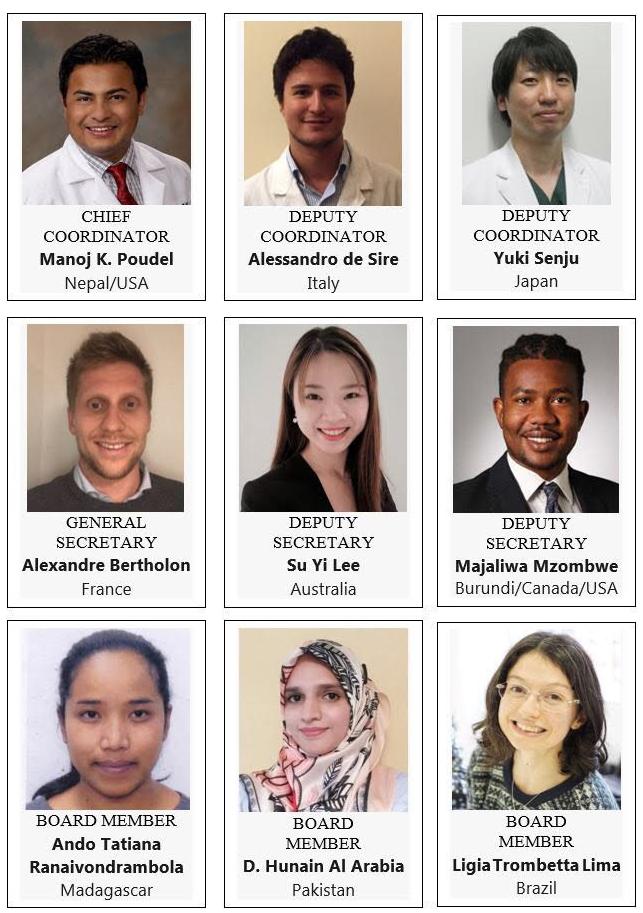ISPRM-WYF Board Members