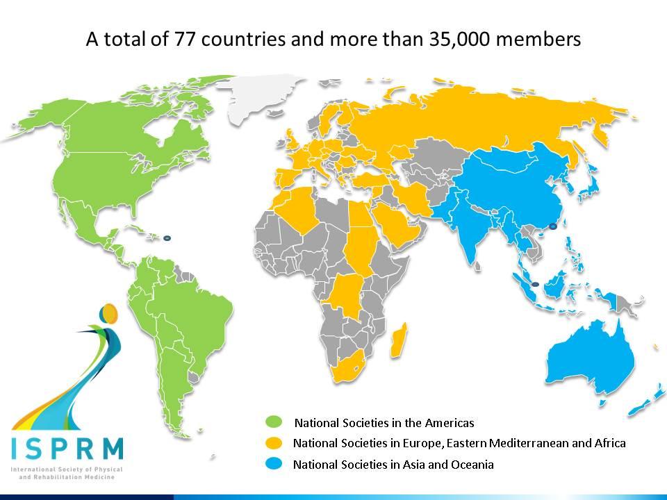 ISPRM MAP National Societies