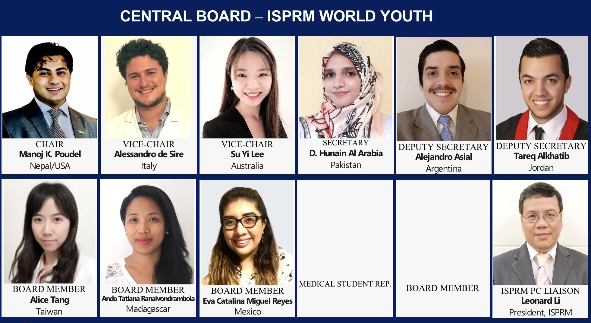 Central Board of ISPRM-WYF